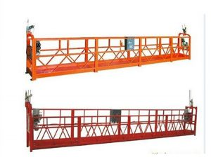 1000 kg 2.5 m * 3 sections suspended access equipment ZLP1000 with 30kn safety lock