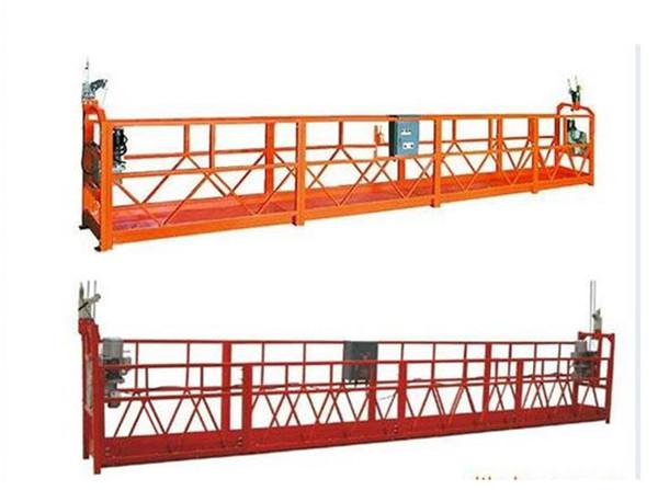 1000 kg 2,5 m * 3 sekcije Opremljena oprema za pristup ZLP1000 s 30 kN sigurnosnom bravom