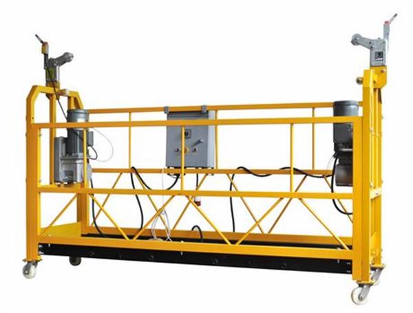 100m - 300m-ko sarbide osatua plataformak 220v altuerako eraikuntzako pintura egiteko