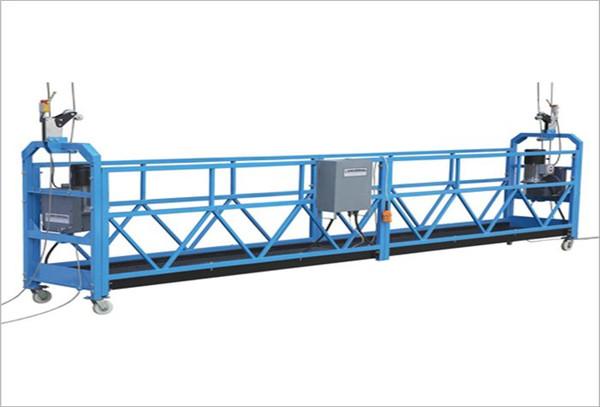 10m plieno / aliuminio pakabinamos prieigos įranga ZLP1000 3 asmenims, dirbantiems