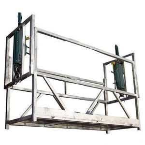2 person rope suspended platform ZLP630 with cast iron counter weight