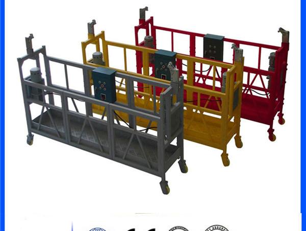 2,5 m 3 sekcijas. Uz laiku uzstādītais piekļuves aprīkojums ZLP800 ar pacēlāju 1,8 kw