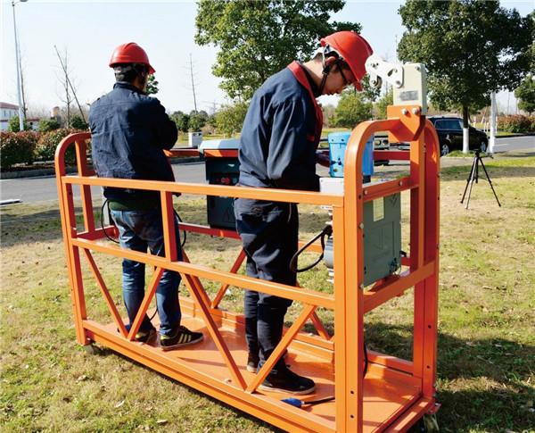 2.5mx 3 seksione platforma pune skeleri 800kg alumini me bllokun e sigurisë 30KN