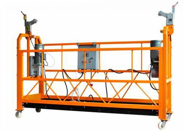 Electric Suspended Scaffold Platform, Aluminum Alloy Aerial Work Platform