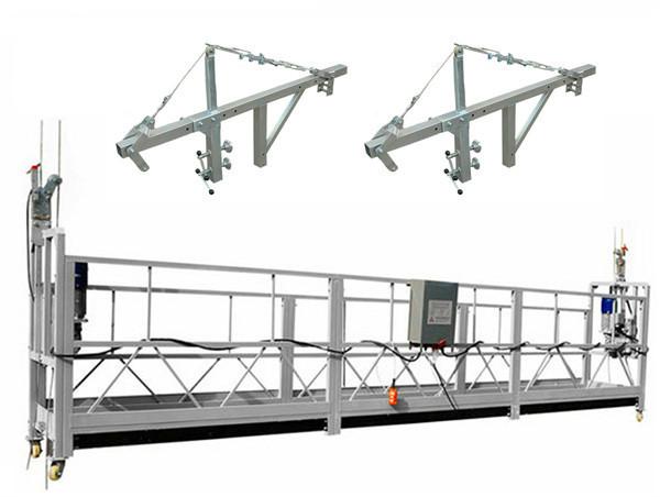 Statybos įrankiai 630 kg pakabinamos darbo platformos su vieline lynu