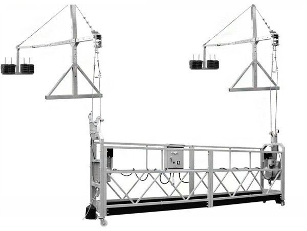Limpeza de limpeza de edificios / Escaleira de andamio / plataforma de elevación eléctrica de construción / plataforma suspendida