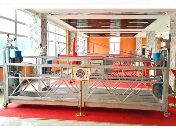Building window cleaning suspended access ZLP500 high rise work platform