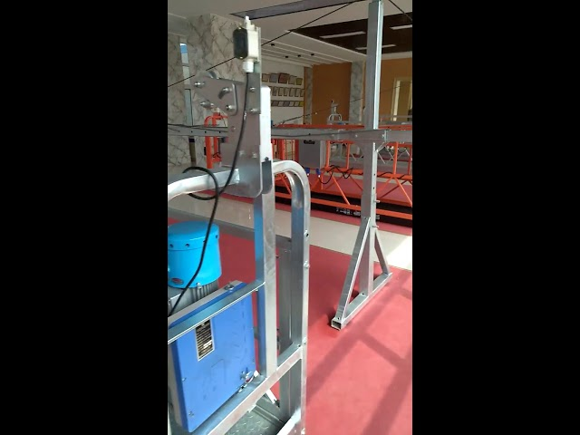 CE ZLP 630 Electric high quality steel wire rope suspended platform cradle