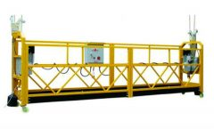 china factory india price steel srp suspended rope platform for building cleaning