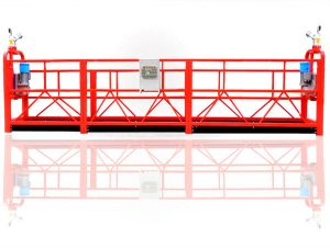 2.5 m * 3 sections temporarily installed access equipment zlp800 with hoist 1.8 kw