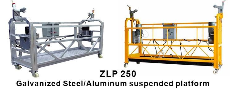 Power:1.5kw*2 220/380/415V Lenth of platform:2-12m Related load:250kg