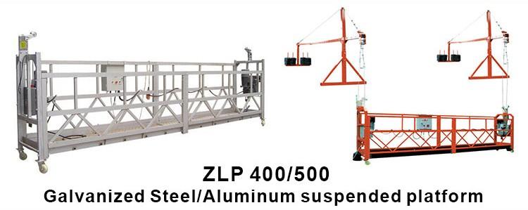 Construction hanging basket, high rise suspended working platforms 3