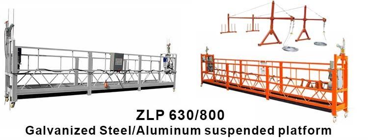Cadeira de colgaduras de construción, plataformas de traballo suspendidas de altura 4