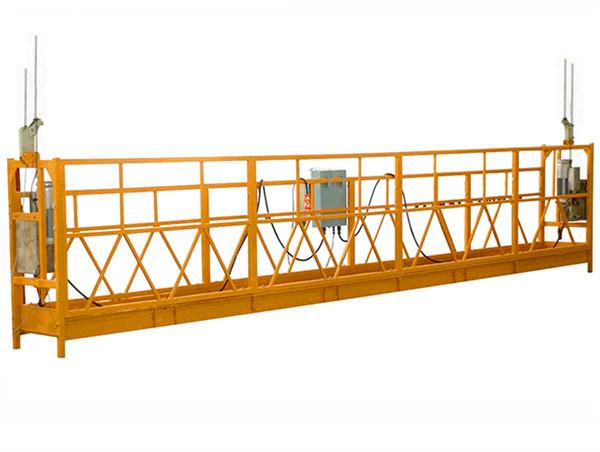 Altzairu Aluminiozko Altzari pertsonalizatuak Hoist Suspensed Working Platform Hanging Scaffold Systems