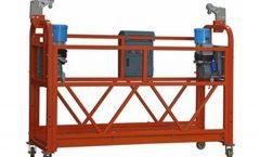 forklift suspended platform cradle adjustable working platform