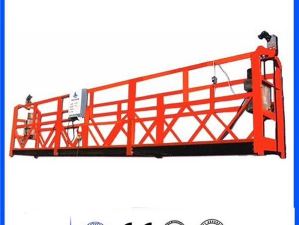 Çmimi me çmim të ulët të veshur me pluhur zlp 630/800/1000 platformë të pezulluar