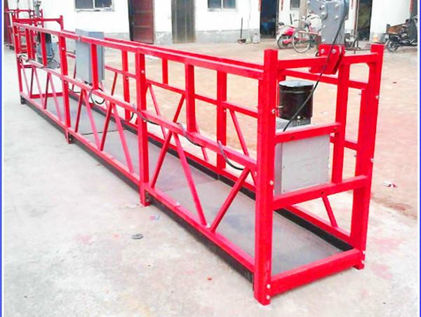 Poŝtelefono por purigado de Senŝanĝa Platformo Aera Lift Work Scaffolding