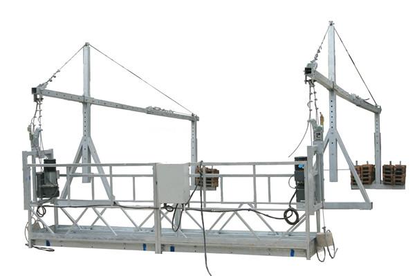 Pohyblivá bezpečnostní lanová zavěšená plošina ZLP500 s jmenovitou kapacitou 500KG