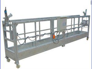 zlp800 electric steel suspended rope work platform