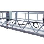 safety rope / cable steel suspended working platform ZLP800 with hoist LTD8.0