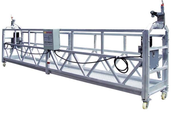 Sigurnosni konop / kabel Čelična suspenzija Radna platforma ZLP800 s remenom LTD8.0