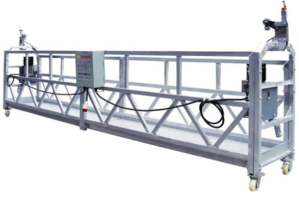 Segurtasun Soka / Cable Steel Lan Plataforma ZLP800 etetea Hoist LTD8.0-rekin
