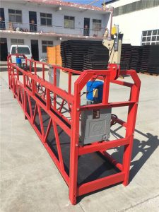 single person suspended working platform ZLP100 for tower maintenance