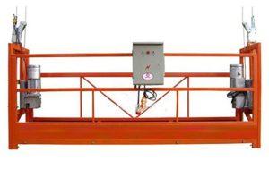 window cleaning ZLP630 rope suspended platform gondola cradle with hoist LTD6.3