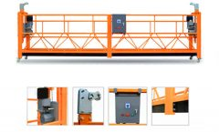 high rise building window glass cleaning equipment for suspended wire rope platform