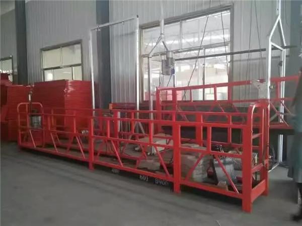 ZLP1000 aldi baterako instalatutako plataforma apaleko eraikuntza apaingarria