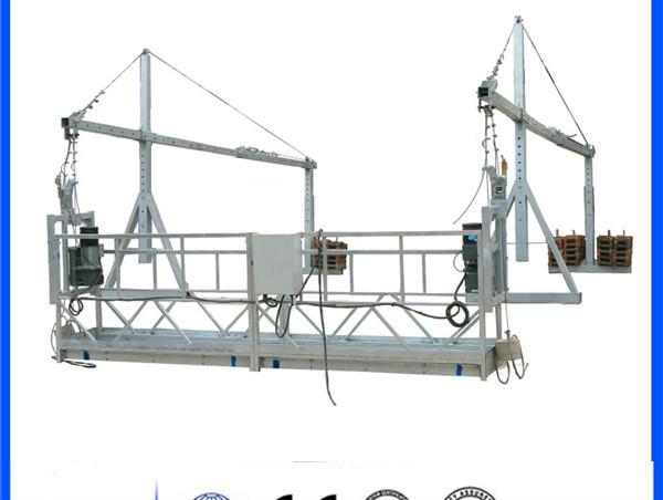 Pelantar Akses ZLP630 Steel Digantung untuk Pembersihan Tingkap