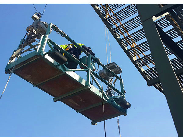 ZLP630 tinggi bangunan pembersihan aluminium platform digantung