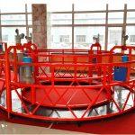 zlp630 electric steel suspended working platform,high rise building cleaning suspended platform