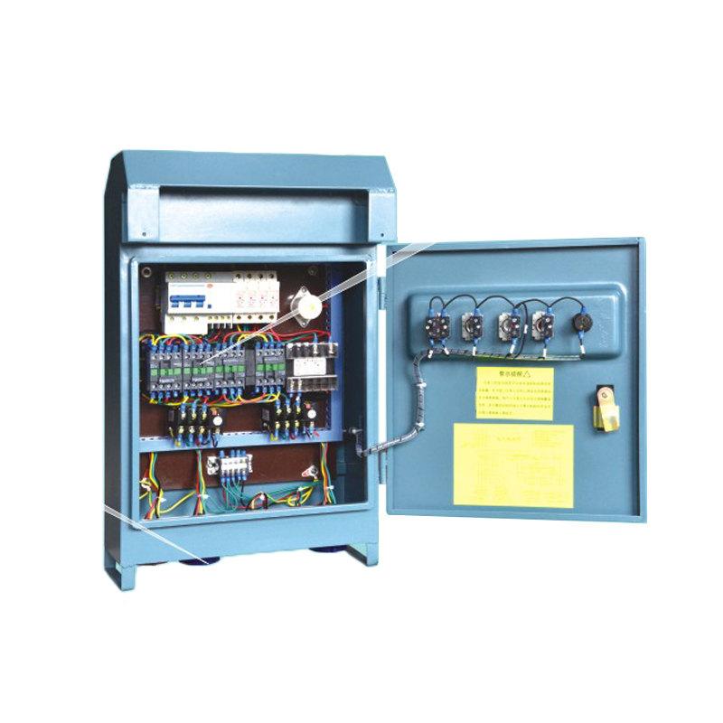 Cuadrícula de distribución eléctrica eléctrica para exteriores Caixa de control eléctrico para plataforma de traballo suspendida Góndola