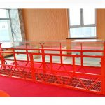 CE approved ZLP800 suspended platform/electric cradle/gondola/swing stage