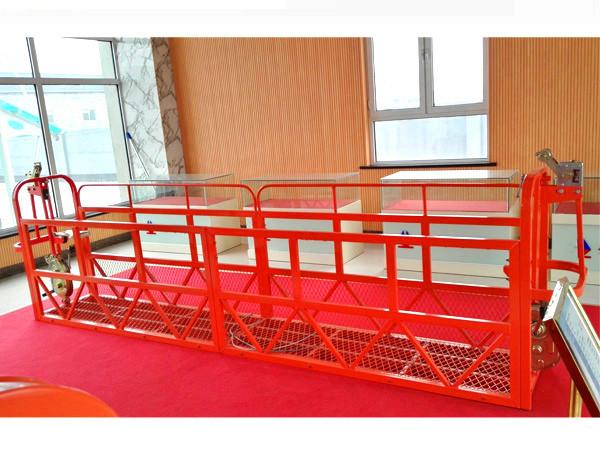 electric hoist wire rope gondola zlp500 spray paint suspended platform