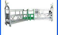 1.8kw zlp800 high rise electric hoist lifting rope suspended platform for construction