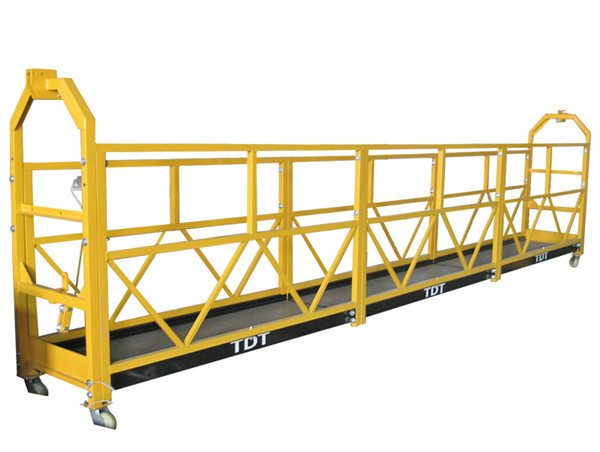 safety lock for suspended platform rope suspended platform