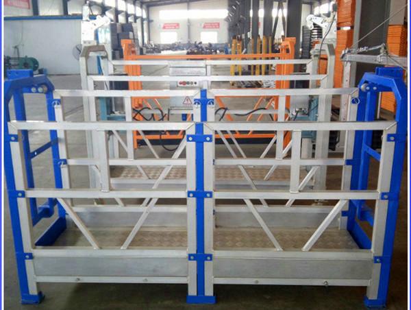 plataforma suspendida platformelectric da operação da série de zlp 630