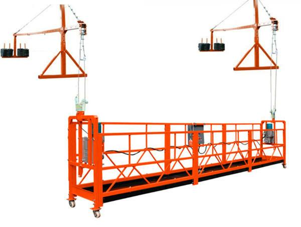 plataforma de acceso suspendida zlp / equipo de limpeza de alta altura / ascensor de góndola