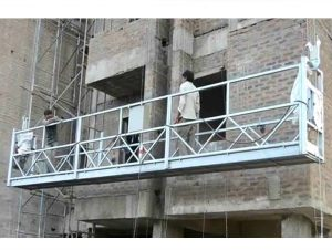 ce approved zlp series suspended wire rope platform zlp500, zlp630, zlp800, zlp1000