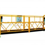 plataforma suspendida de corda zip630 zip800