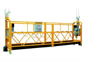 plataforma suspendida de cuerda zip630 zip800