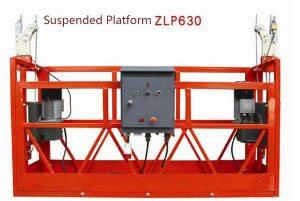 10m powered aluminum rope suspended platform ZLP1000 single phase 2 * 2.2kw