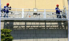 2 x 1.8 kw suspended scaffolding single phase suspended platform cradle zlp800