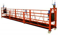 500 kg 2 m 2 Sections Aluminium Alloy Suspended Access Equipment ZLP500