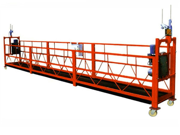 500 kg 2 m 2 Seksione Alumini Alloy Suspended Access Equipment ZLP500