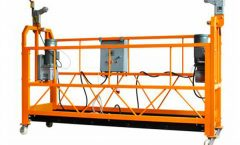 Electric Suspended Scaffold Platform , Aluminum Alloy Aerial Work Platform