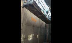 অ্যালুমিনিয়াম facade পরিষ্কার লিফট ভারা, ঝুলন্ত ঝুড়ি গন্ডোলা ঝুলন্ত