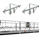 Zlp800 steel suspended work platform safety for high building wall